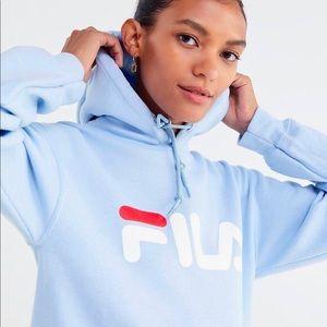 Light blue Fila sweater